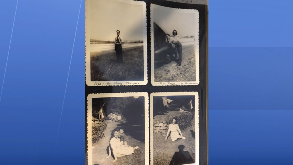 A Bay Area woman is on mission to reunite nearly 100-year-old photos with the family they belong to. (Katie Jones, staff)