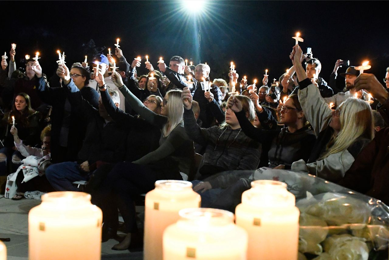 Vigil in Amsterdam