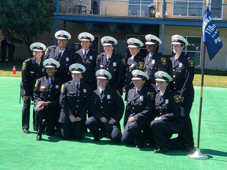 Members of CPD's 110th Recruit Class (Provided: Cincinnati Police Department)