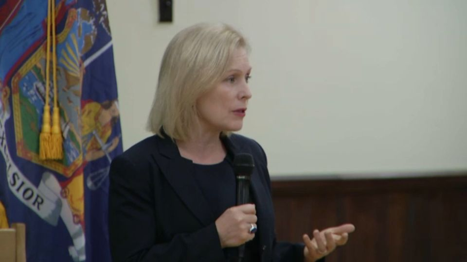 Gillibrand Discusses Guns, Mental Health, Vaccines in Buffalo