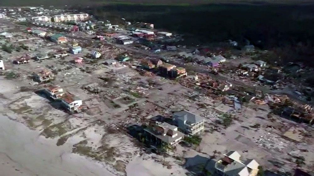 Hurricane Damage in Mexico Beach.
