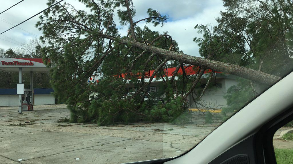 Hurricane Damage in the Florida Panhandle.