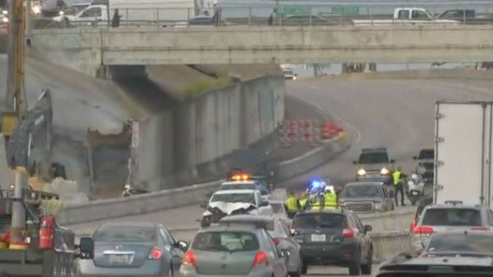I-35 Reopens After Pedestrian Killed in Crash
