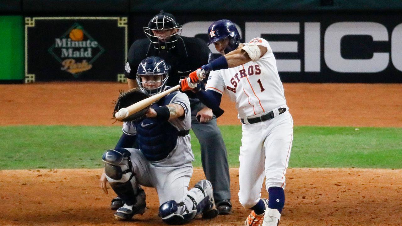 Correa Walk-Off Homerun Evens ALCS Against the Yankees