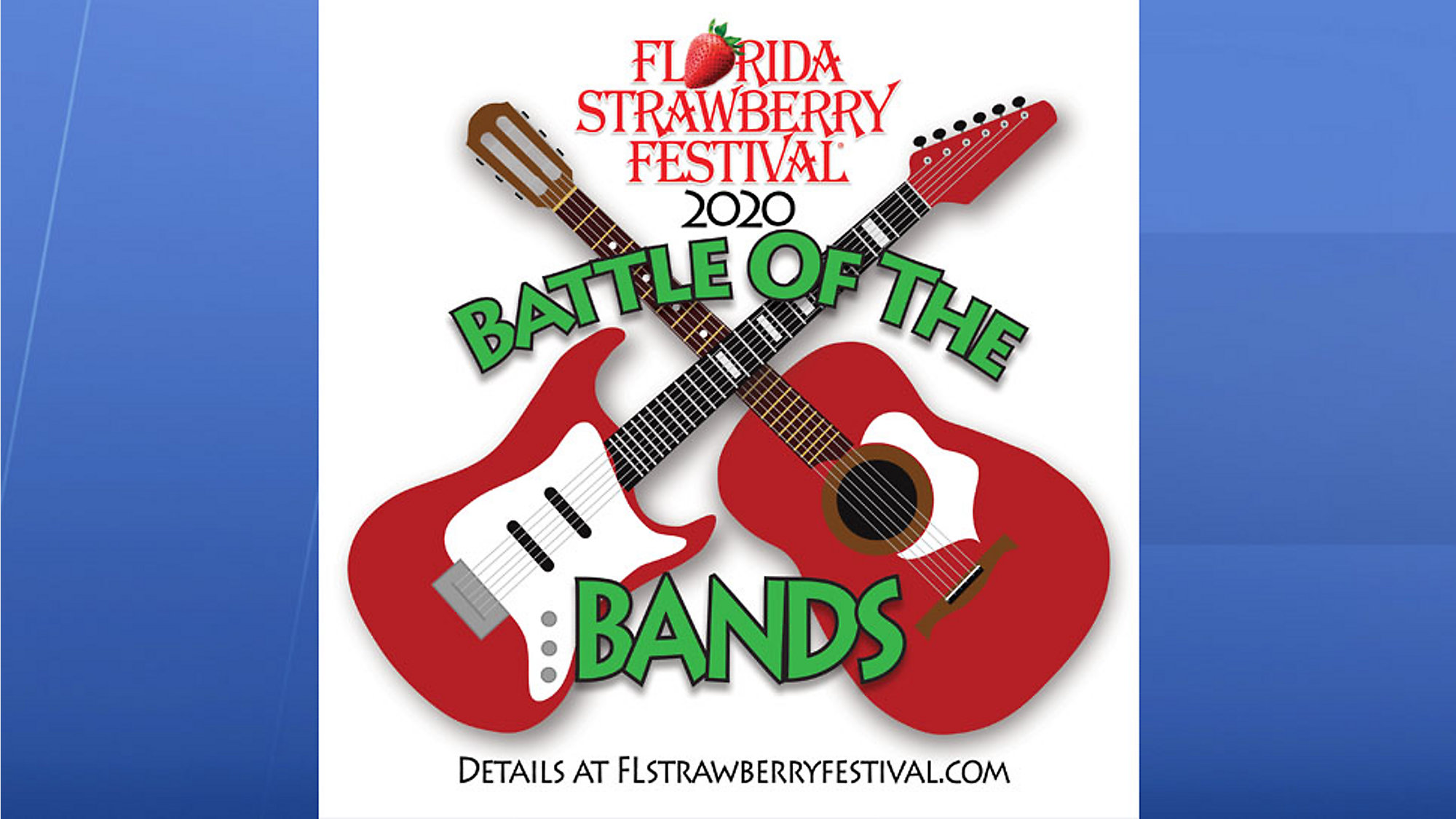 Florida Strawberry Festival 2020.Battle Of The Bands Returns To Florida Strawberry Festival
