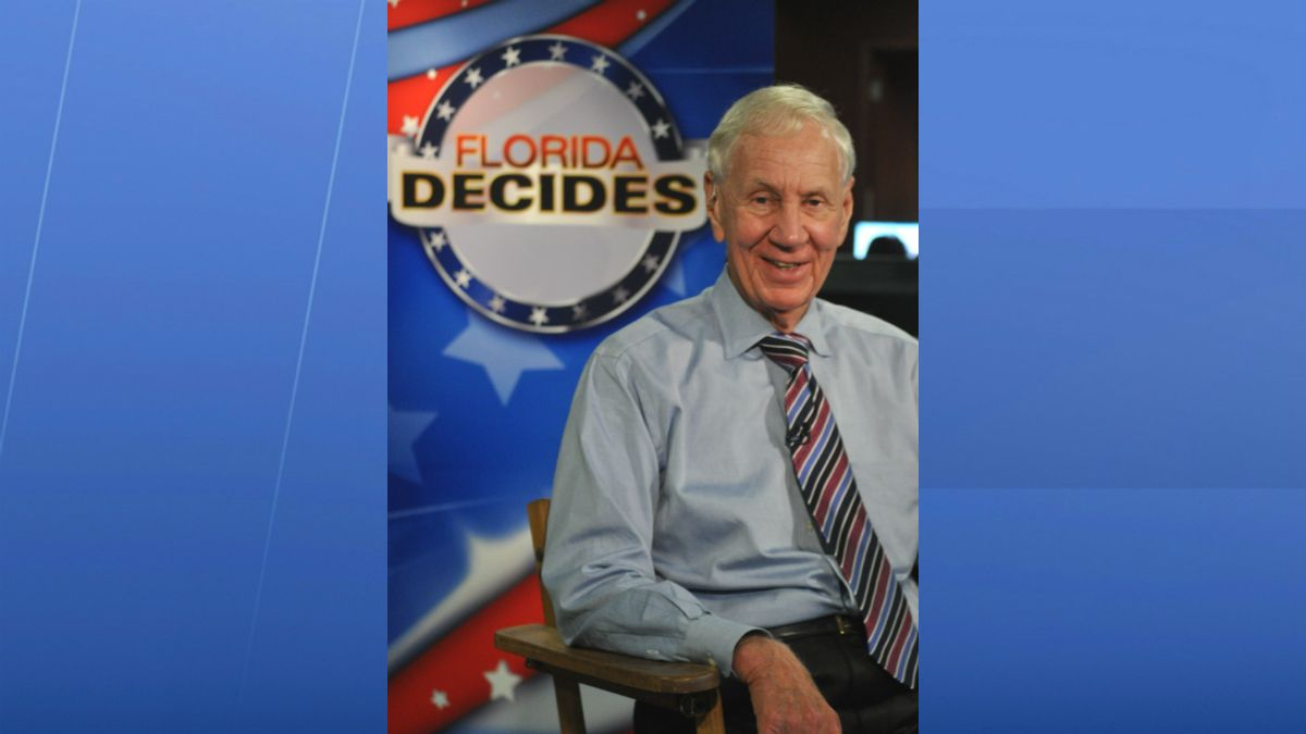 Lou Frey was a longtime political analyst for Central Florida News 13, now Spectrum News 13. (File)