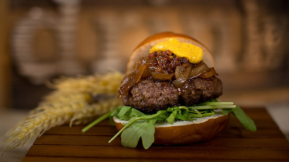 Bison Slider, one of the dishes that will be served at SeaWorld Orlando's upcoming Craft Beer Festival. (SeaWorld)