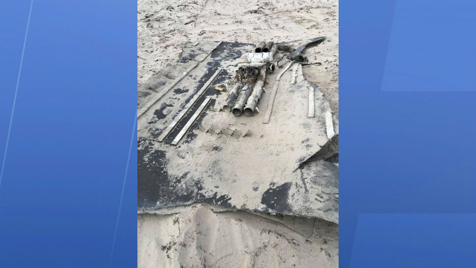 Debris from a SpaceX rocket washed ashore near the Outer Banks of North Carolina late last week. The National Park Service removed the debris a couple of days later.