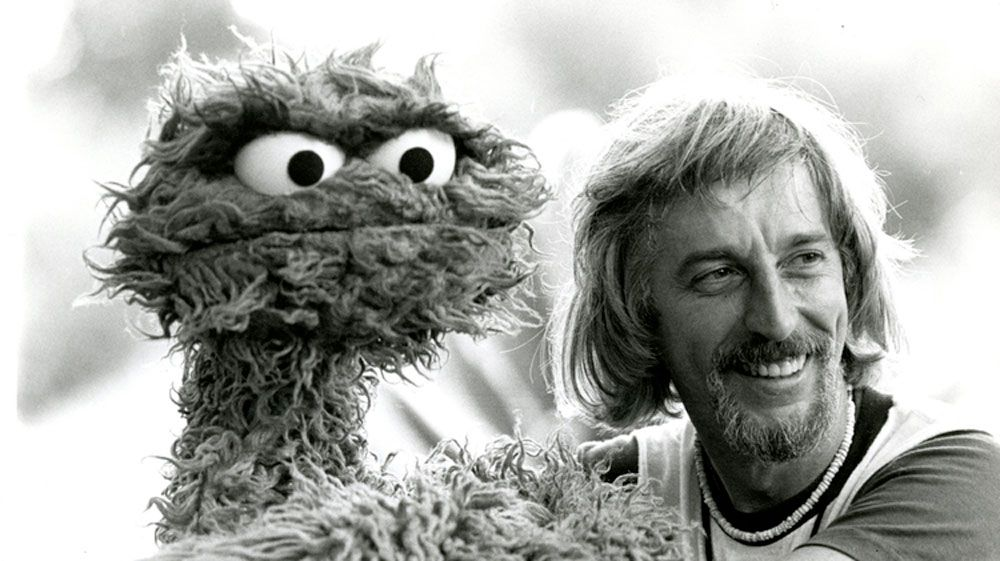 Caroll Spinney playing Oscar the Grouch. (Copper Pot Films)