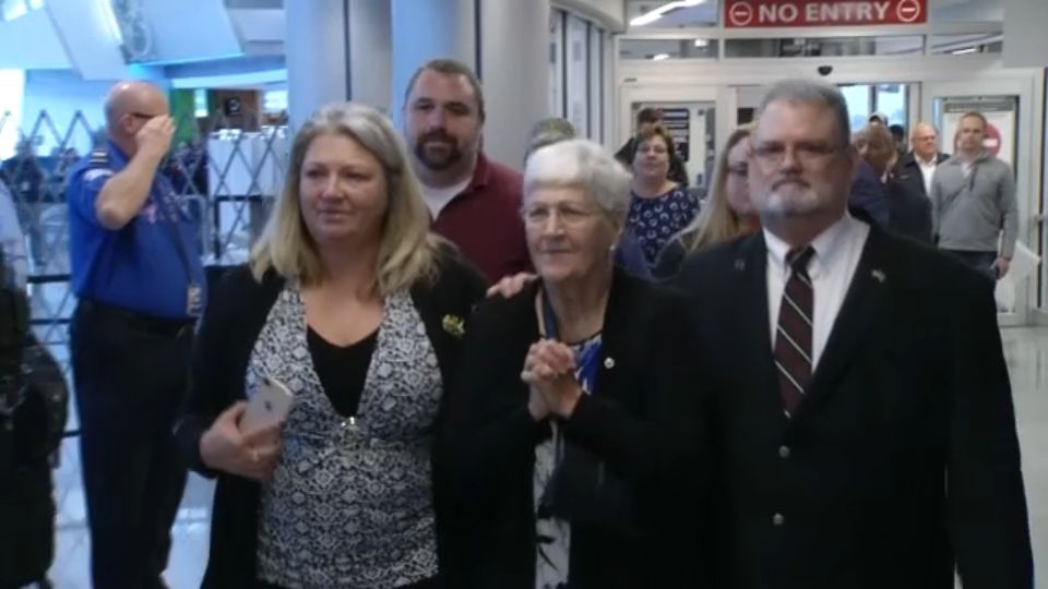 A Korean War Veteran Finally Returns to His Family in Dunkirk