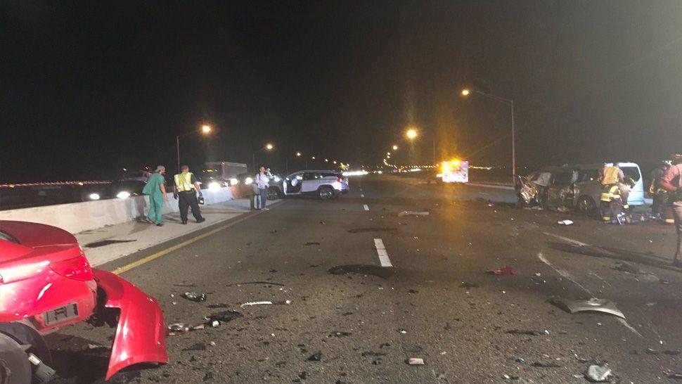 Howard Frankland Bridge crash