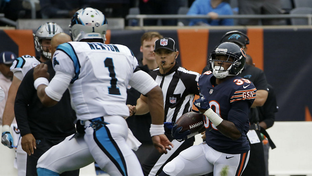 Jackson s 2 defensive TDs lead Bears past Panthers 17-3 7490a0081