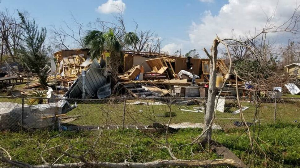 Manatee Co. firefighter helps Michael victims