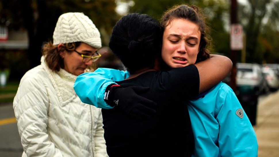 A gunman shot and killed 11 people during a ceremony at a Pittsburgh synagogue on Saturday. (CNN)