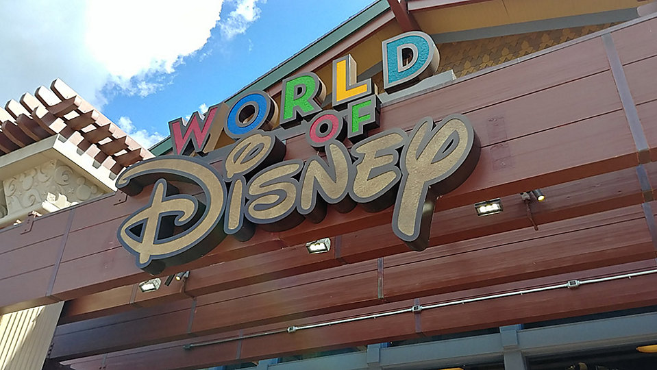 World of Disney store at Disney Springs. (Ashley Carter/Spectrum News)