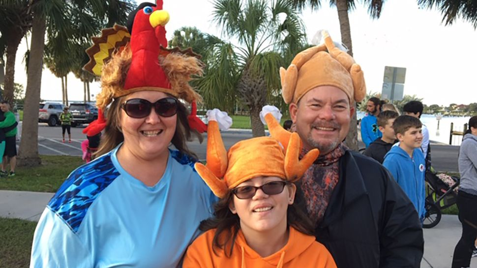 The community came out to donate and enjoy the 3rd annual Safety Harbor Gobble Wobble 5k walk, run and drive. (Safety Harbor Gobble Wobble)