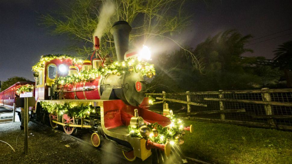 Busch Gardens 'Christmas Town' Opens