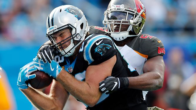 e4512823 A Tale of Two Halves as Panthers hold off Buccaneers 42-28