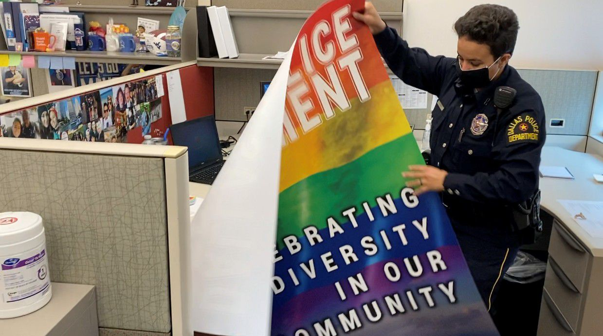 spectrumlocalnews.com: Dallas Police Working to Strengthen Relations with LGBTQ+