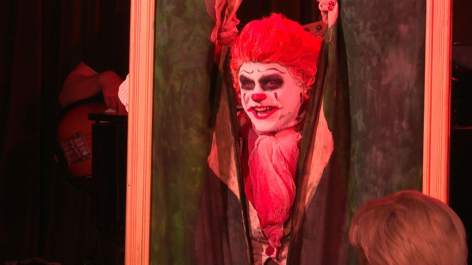 """IT was the first horror movie I ever saw,"" Garrett Clayton said, ""I've always had a soft spot for evil clowns, I guess."""