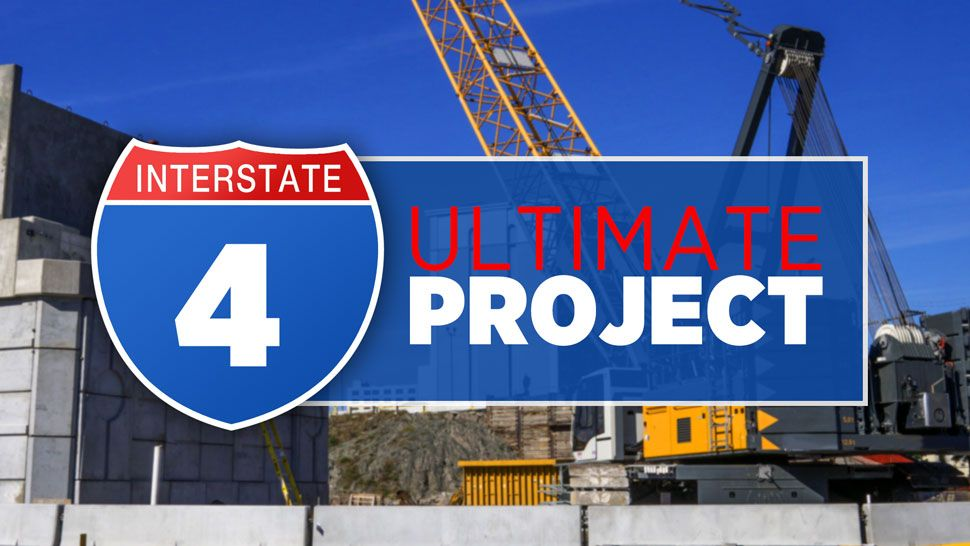 I-4 Ultimate work to close State Road 408 at I-4