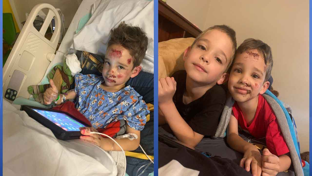 """Trinity Salon Holds """"Cut-a-Thon"""" to Benefit Child Struck by Truck on Halloween"""