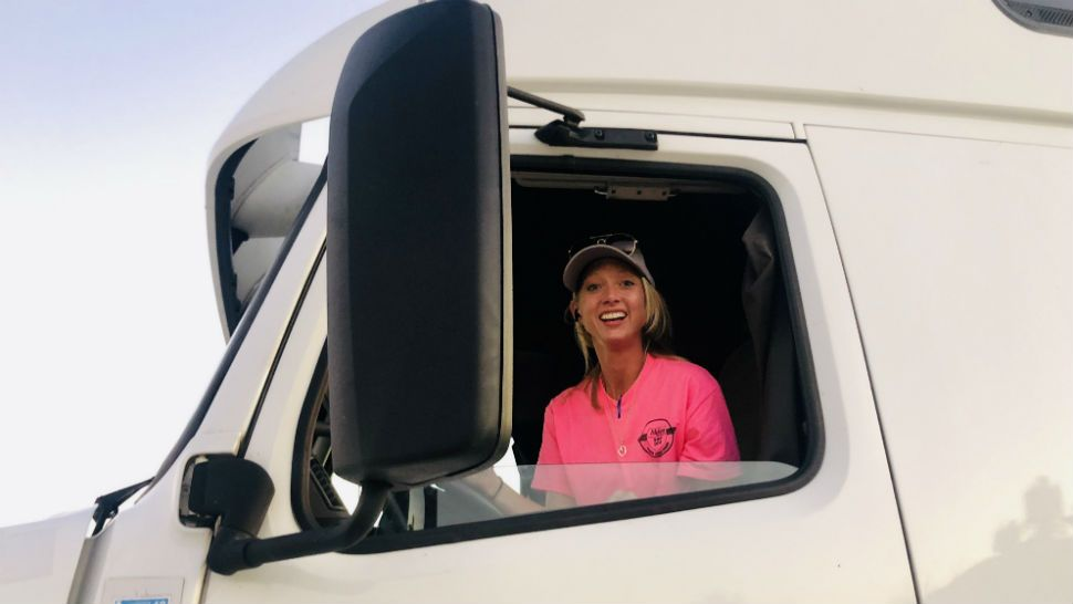 Amid Truck Driver Shortage, More Women Join Industry