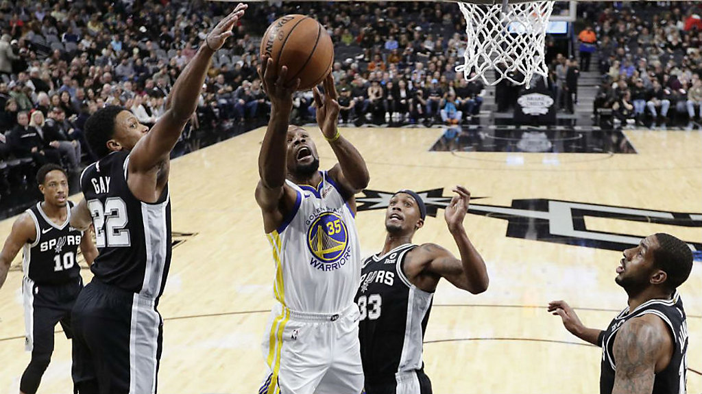 Aldridge, DeRozan Help Spurs Extend Warriors Skid, 104-92