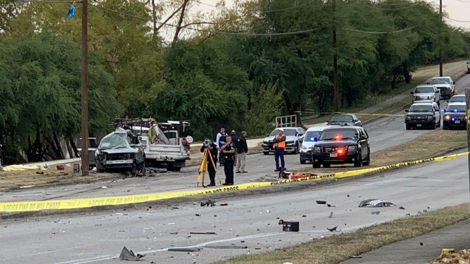 Person Killed, Suspect Flees New Braunfels Crash