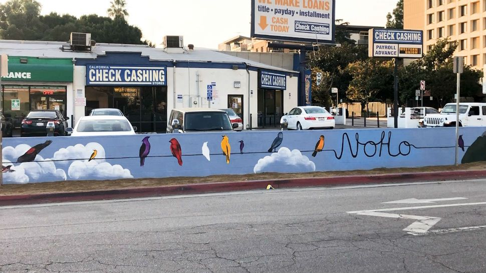 Muralism is a nonprofit organization that helps beautify the city of Los Angeles and surrounding areas.