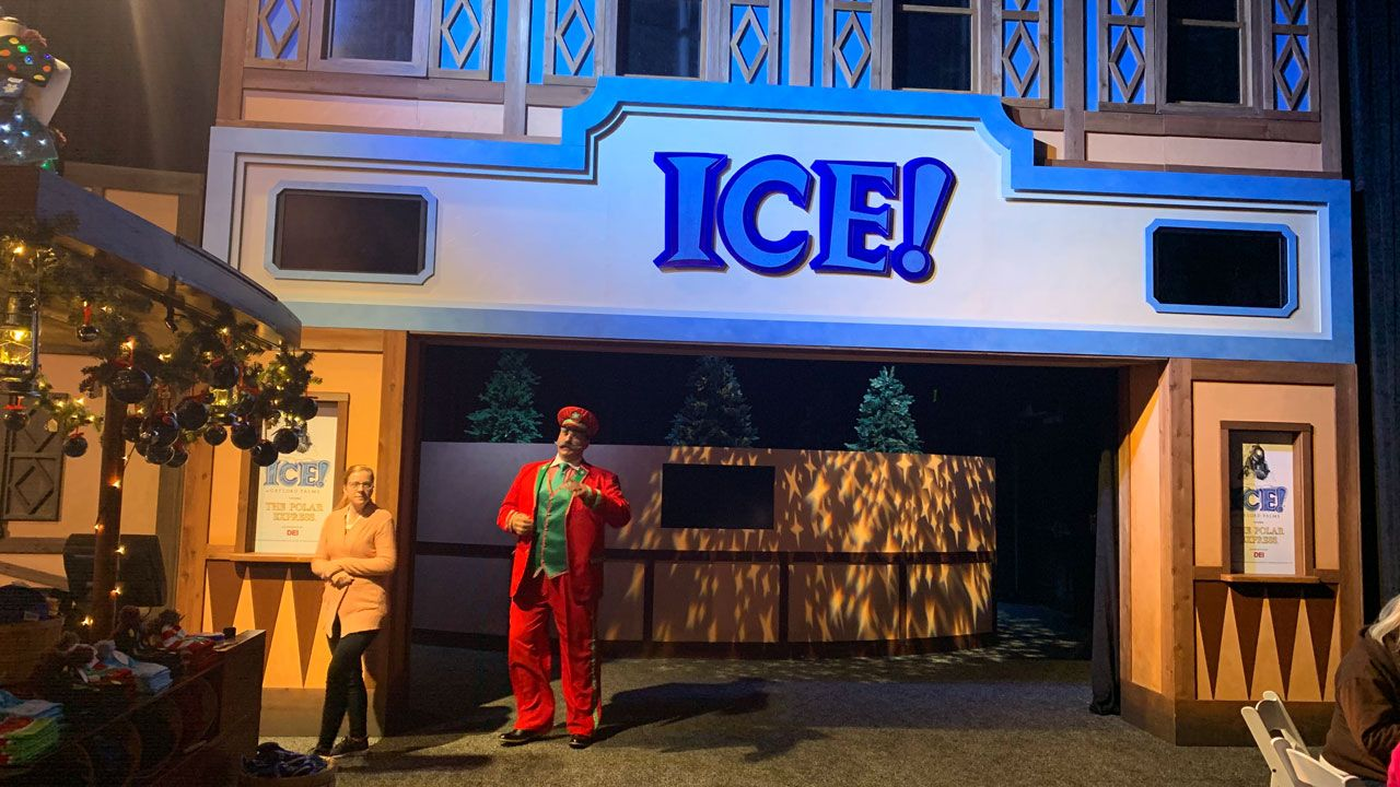 Entrance to Ice! (Greg Angel, Spectrum News)