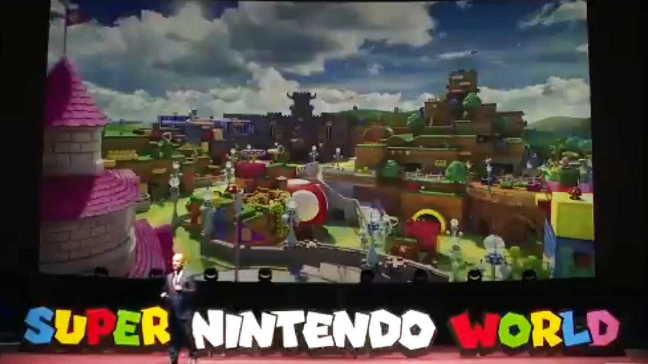 Universal S Super Nintendo World To Feature Power Up Bands