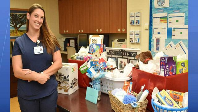 Co-workers Rally Around Nurse Displaced by Hurricane Michael