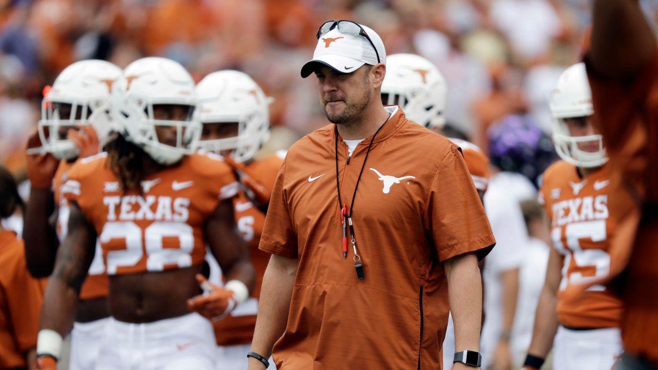 Texas Makes Major Football Staff Changes