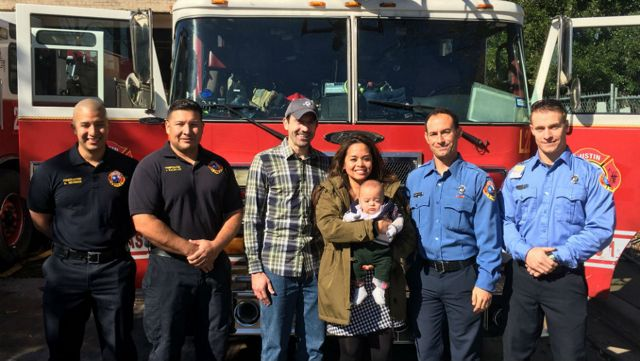 Firefighters Save Premature Baby After Mother Gives Birth Alone