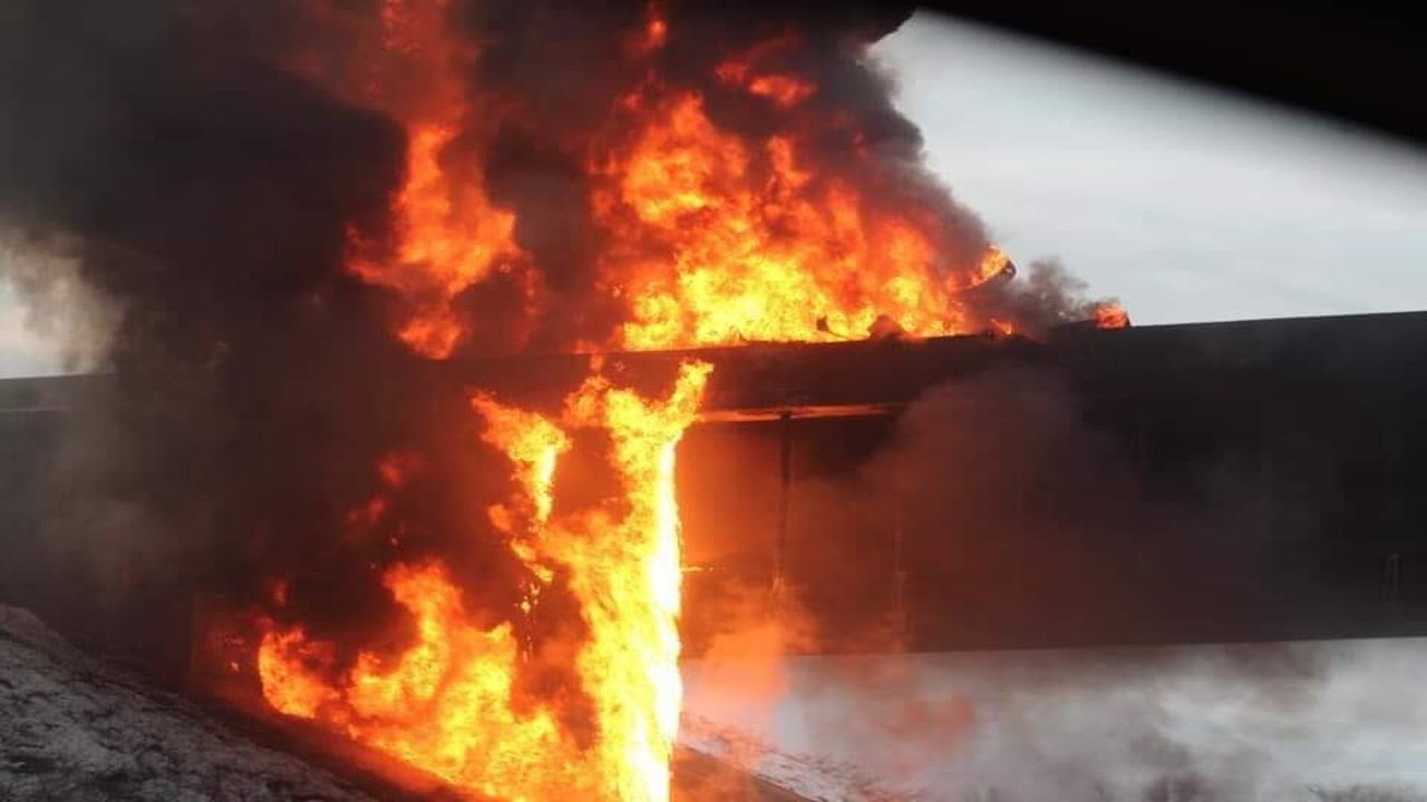 Tanker Truck Fire Shuts Down Portions of Two Interstates
