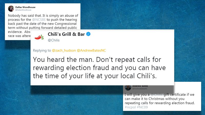 Is Chilis Open On Christmas.Chili S Accidentally Joins Nc Election Fraud Debate