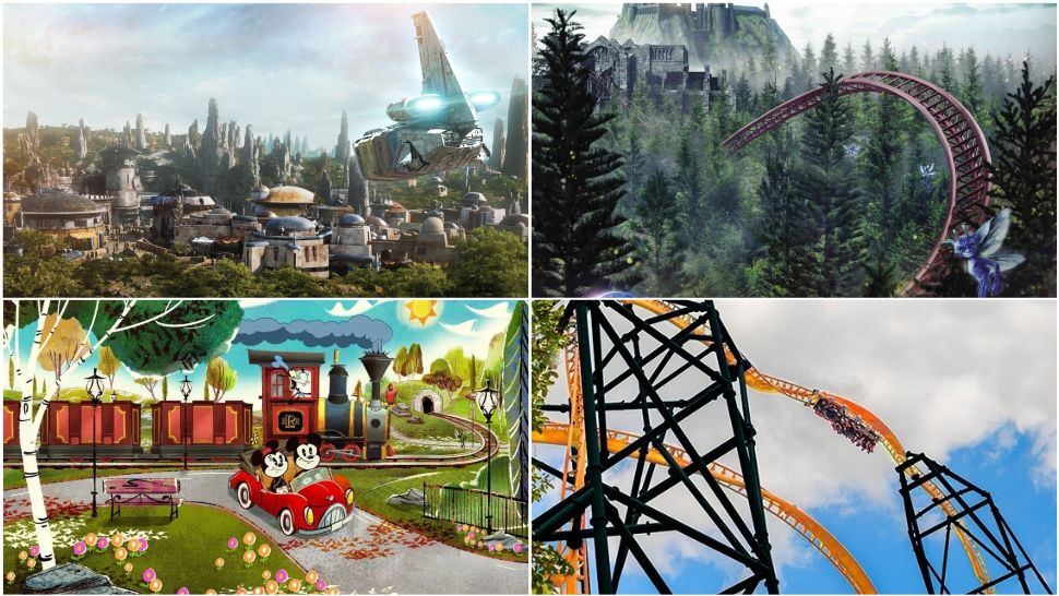 10 New Attractions Coming to Florida's Theme Parks in 2019
