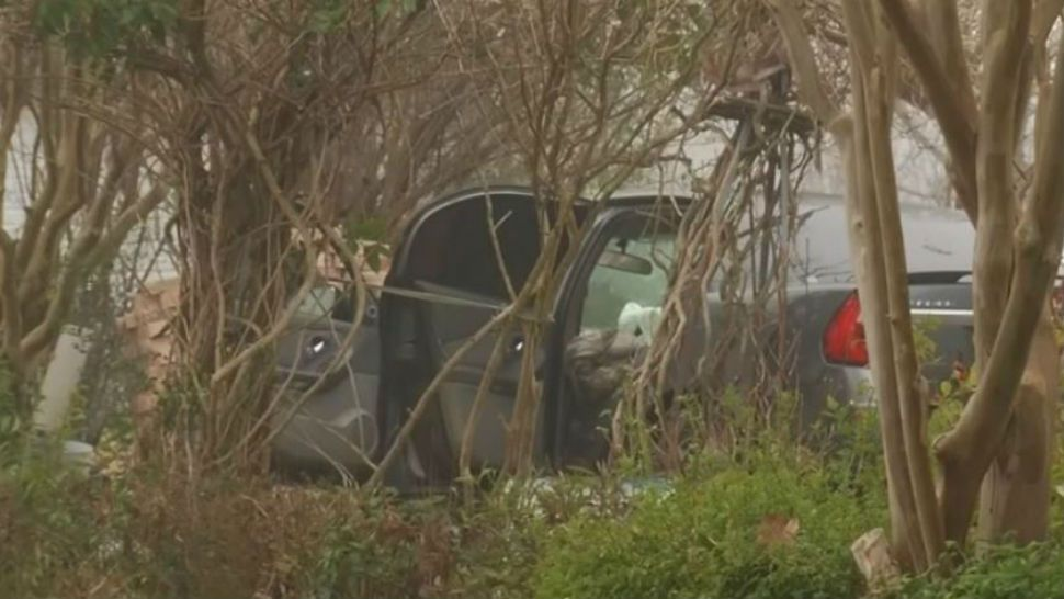 Man Dies After Car Crashes Into Manor Home