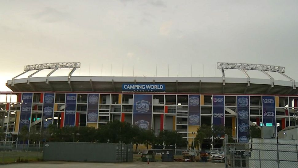 Concert, Games, UCF's 1st Day Prompt Orlando Road Closures