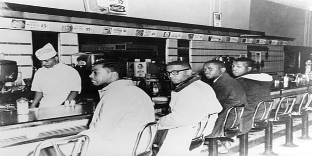 Facts to Know About the Greensboro Four and Sit-In Movement on map of raleigh nc, map of charlotte nc, map of north carolina, map of greenville nc, map of asheville nc, map of moyock nc, map of hog island nc, map of memphis tn, map of griffin nc, map of ogden nc, map of salemburg nc, map of orange co nc, map of biltmore forest nc, map of saxapahaw nc, map of clarksville nc, map of atlanta, map of charlottesville nc, map of columbus ga, map of bunnlevel nc, map of ferguson nc,