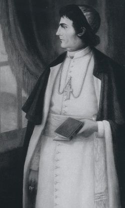 Portrait of Bishop Fenwick