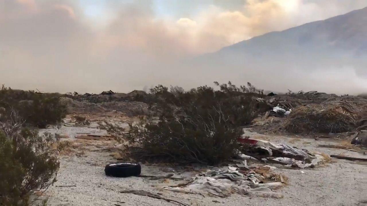 Ca Wildfire Map Spectrum News 1