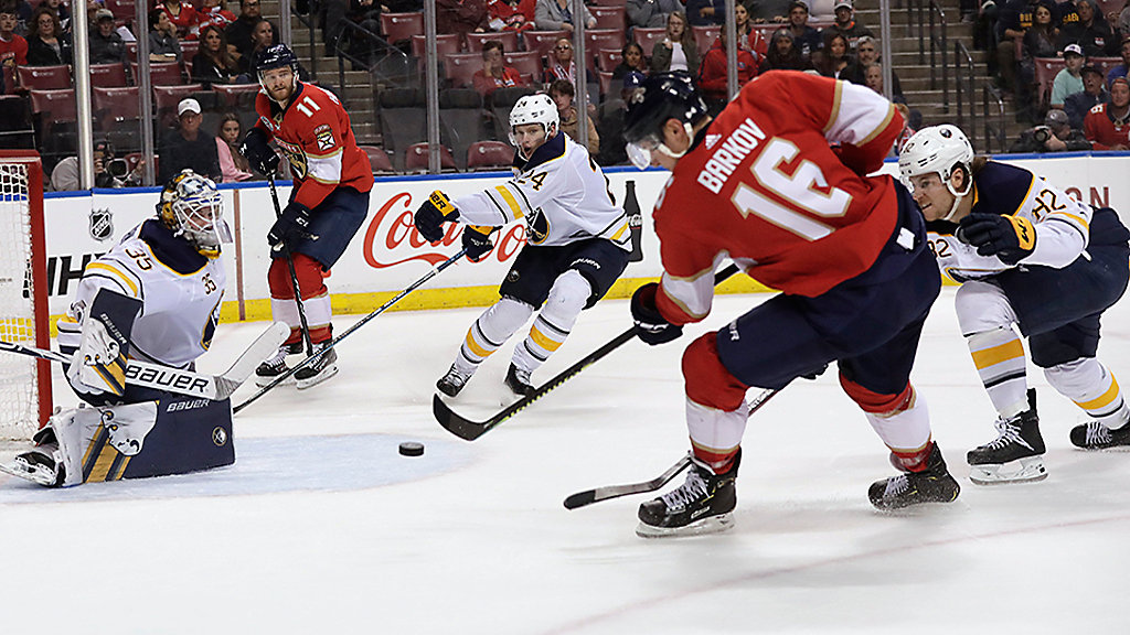 Huberdeau Scores 2 as Panthers Beat Sabres 4-2 8afc64a6c