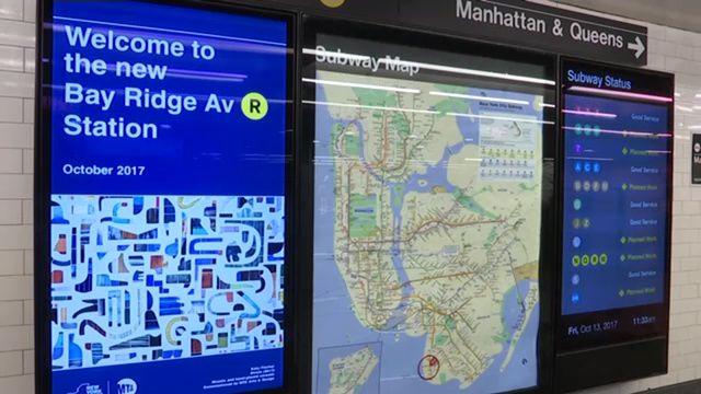 Subway Map Bay Ridge Area.Bay Ridge R Train Stop Reopens With Upgrades