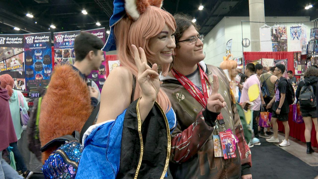 Cosplayers Make The Show At 28th Annual Anime Expo