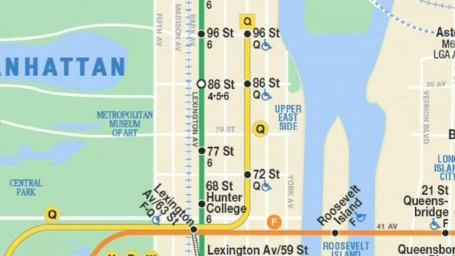 Official Ny Subway Map.It S Official Mta Adds Second Avenue Subway Line To Its Maps