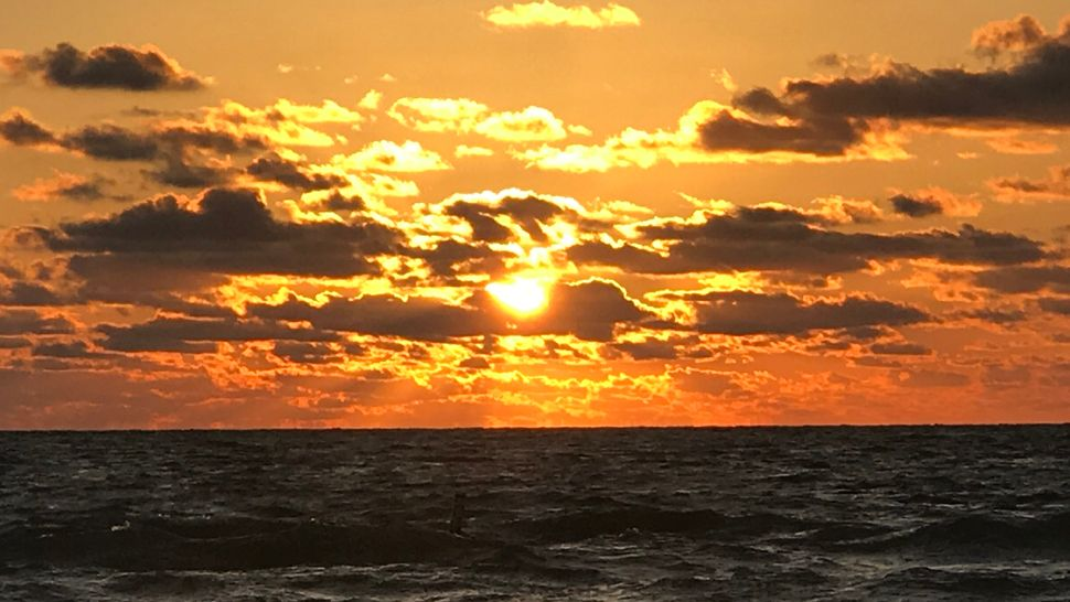Submitted via Spectrum Bay News 9 app: Sunset over Indian Rocks Beach, Thursday, April 26, 2018. (Emily Lecher, viewer)