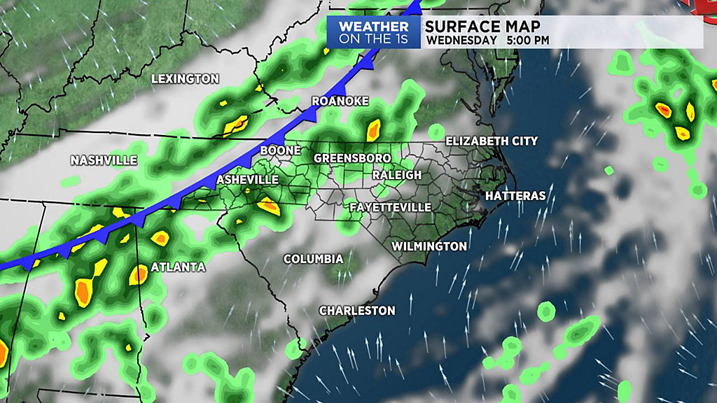 A Cold Front Takes Aim At North Carolina