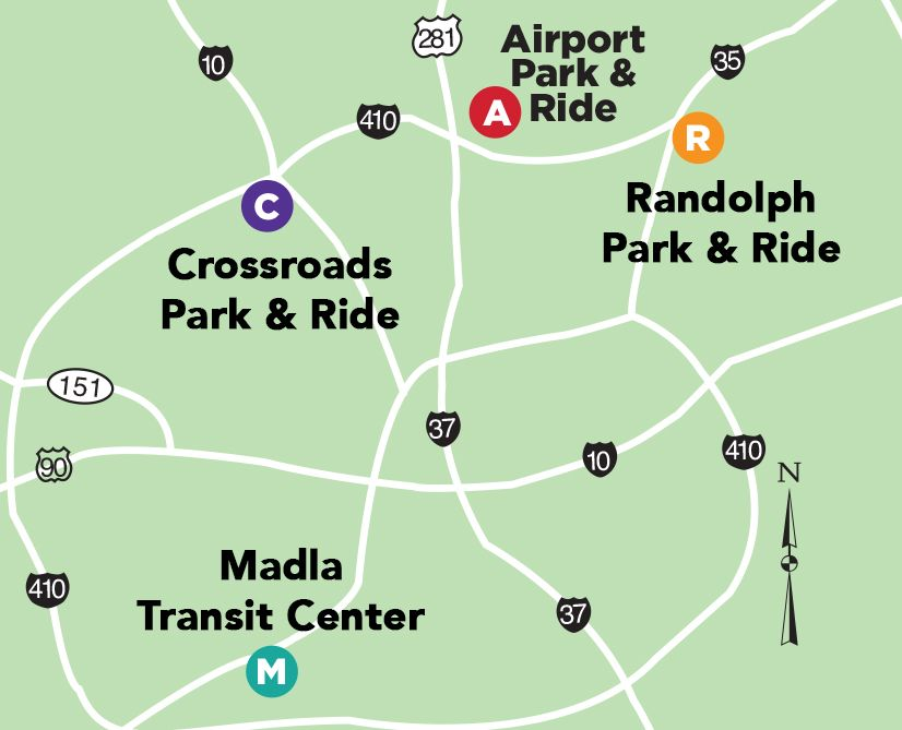 Via Releases 2019 Fiesta Park And Ride Schedule